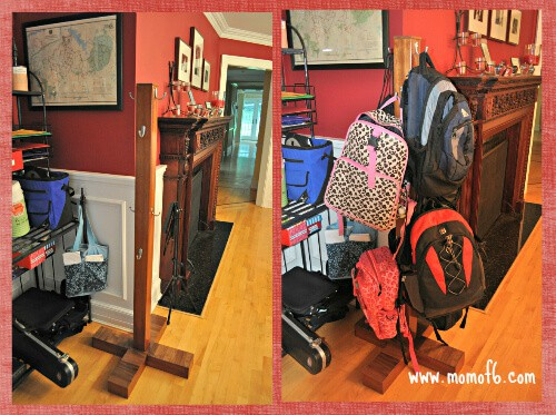 Backpack Rack designed by Steve!