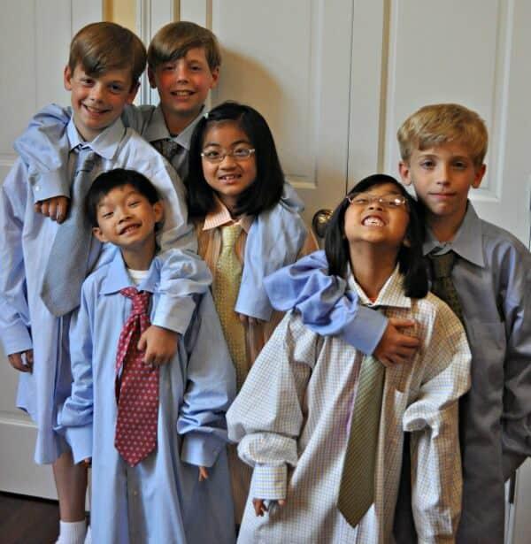 Kids in Ties