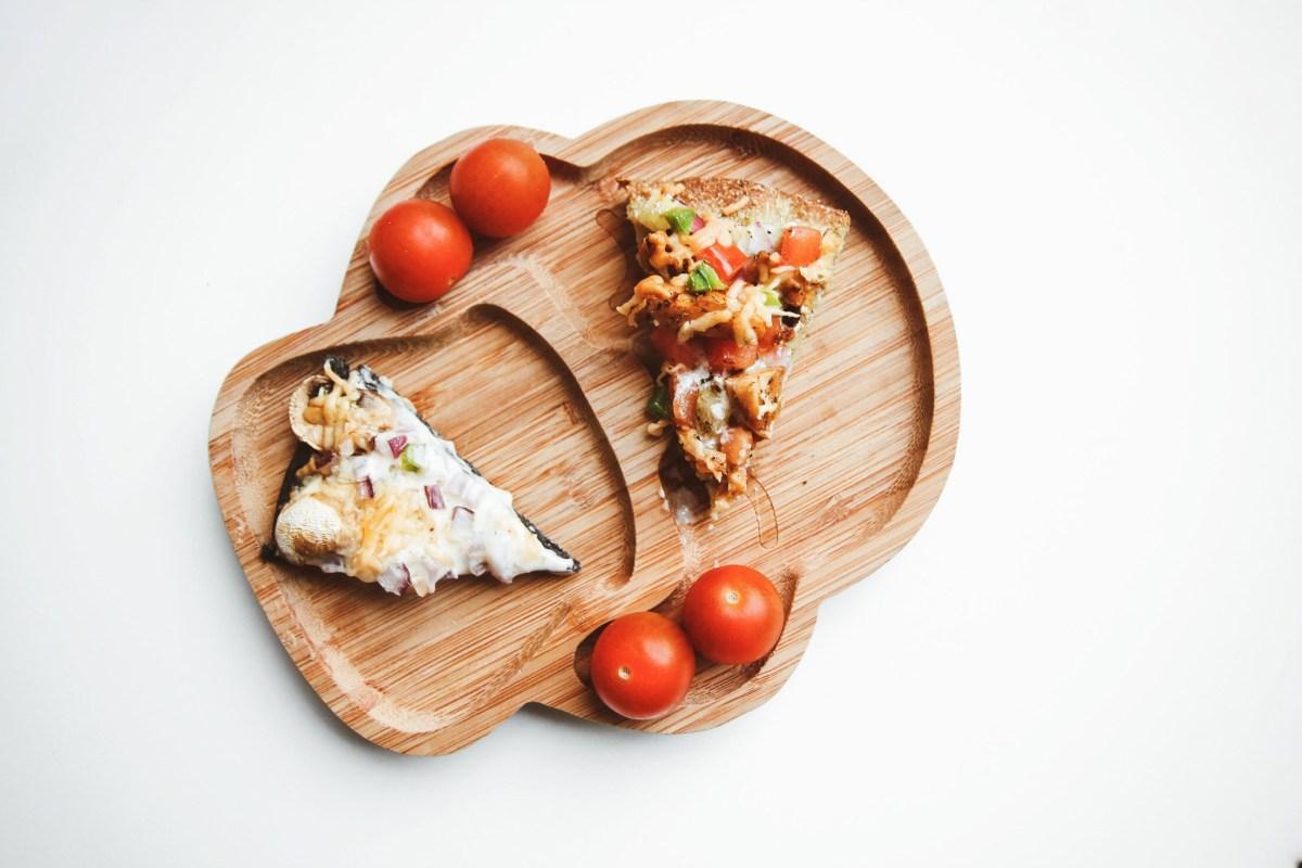 Onze peuter eet groente dankzij Magioni Pizza's!