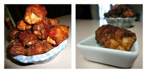 Brown Sugar Chili Chicken Collage