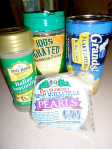 Cheese Pockets Ingredients