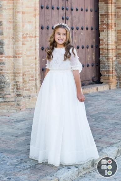 blogs de moda infantil, vestidos comunion, trajes comunion,  momolo, Pilar del Toro