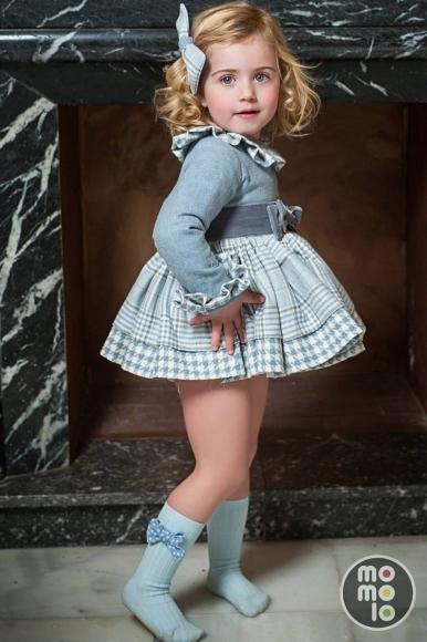 Girl clothing Bows Dresses Socks  La Amapola  MOMOLO