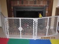 Making a Fireplace Hearth Guard | momondealzblog