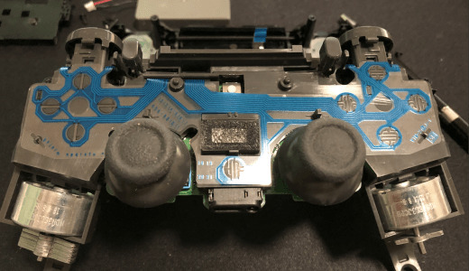 【PS4コントローラー】デュアルショック4の故障原因 スティックや十字キーが壊れやすい?補償期間内なら無料!修理受付