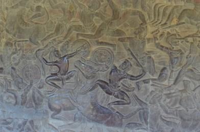 アンコールワット回廊の壁画-10.32.18