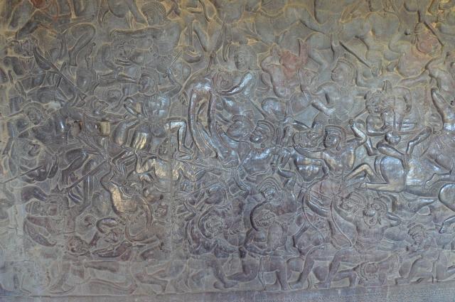 アンコールワット回廊の壁画-10.38.49