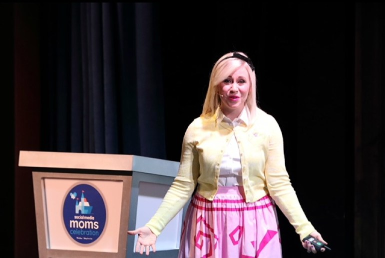 Ashley Eckstein - Her Universe - Photo credit Disney Photographer: Alex Mirabal - Magic and Motivation - Disney Social Media Moms Conference