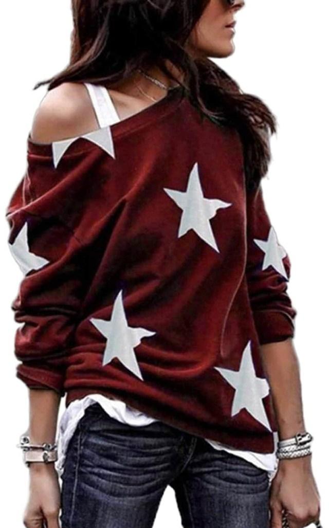Loose Crewneck Pullover Sweatshirt