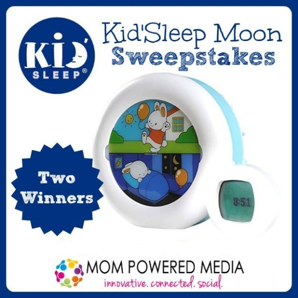 Kid'Sleep Moon Giveaway