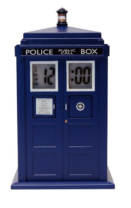 doctor who tardis clock
