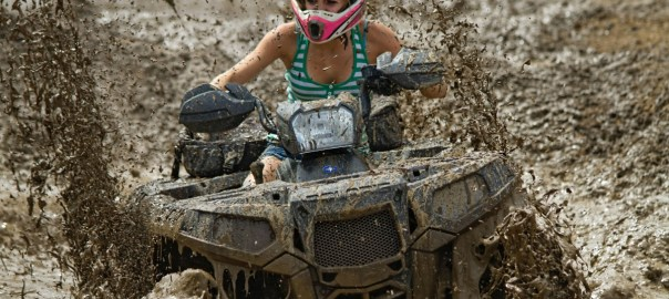 Extreme Hobbies by Land - ATV Mudding