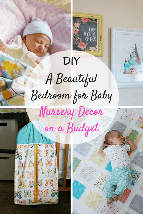 Beautiful Bedroom For Baby  Diy Nursery Decor On A Budget