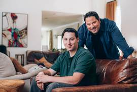 Greg Grunberg and his son, Jake