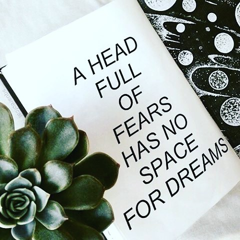 a head full of fears