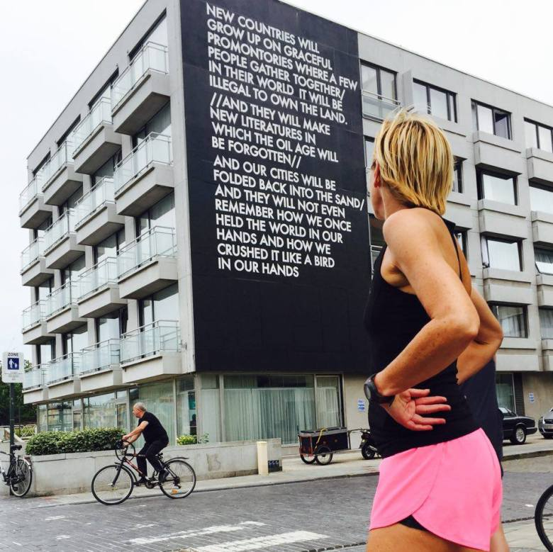 Mom Runs the City - Oostende - The Crystal Ship Run - Robert Montgomery