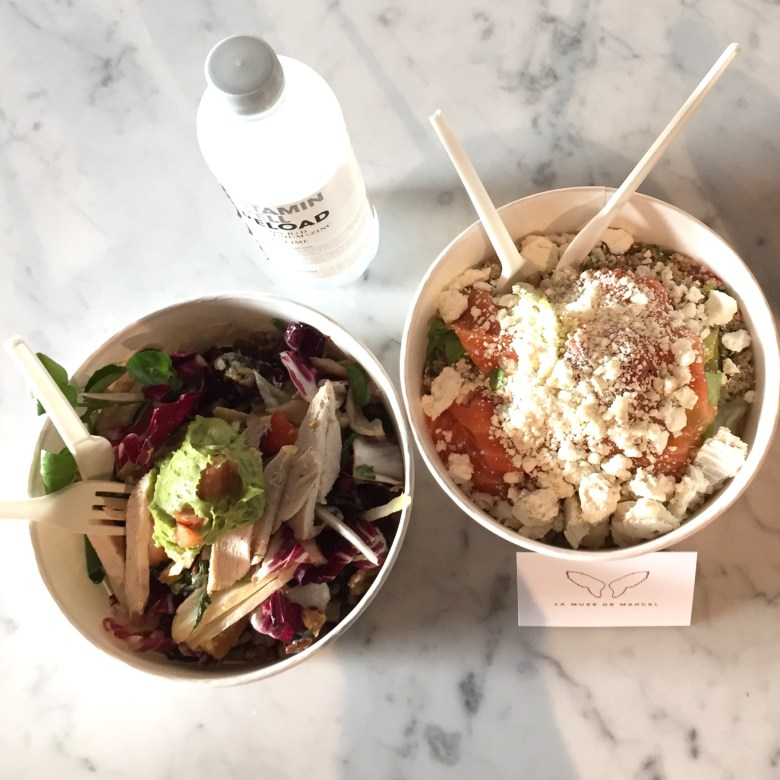 Moms Run The City in Jabbeke met Chloé Taffe, healthy take-away La muse de Marcel