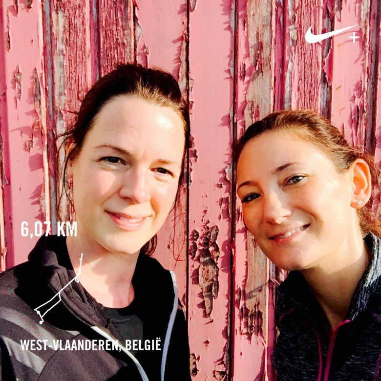 Moms Run The City met Lieselotte Six in Langemark