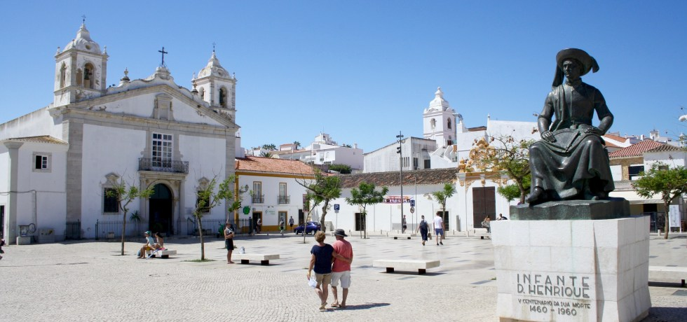 Algarve, Lagos, Portugal, Praça do Infante