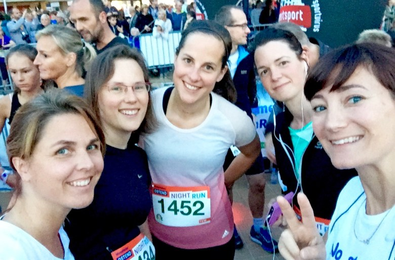We ran the ostend Night Run