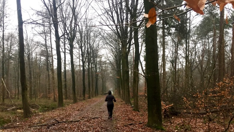 Moms Run The City lopen met Charlotte in het Drongengoedbos in Knesselare