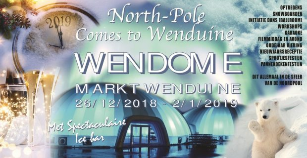 Northpole comes to wenduine