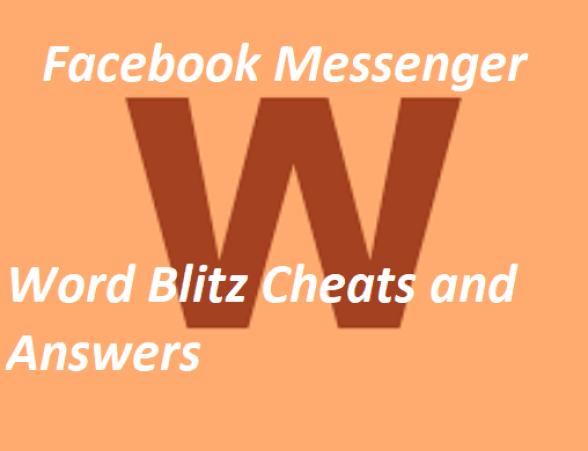 Facebook Messenger Word Blitz Cheats