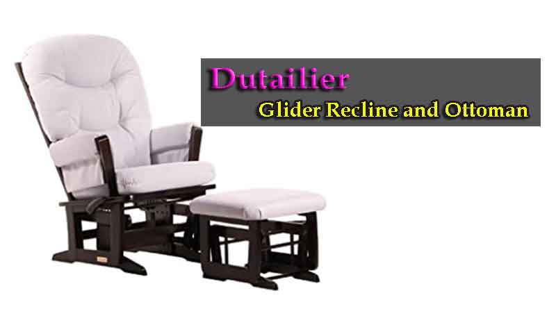Dutailier Glider Recline and Ottoman