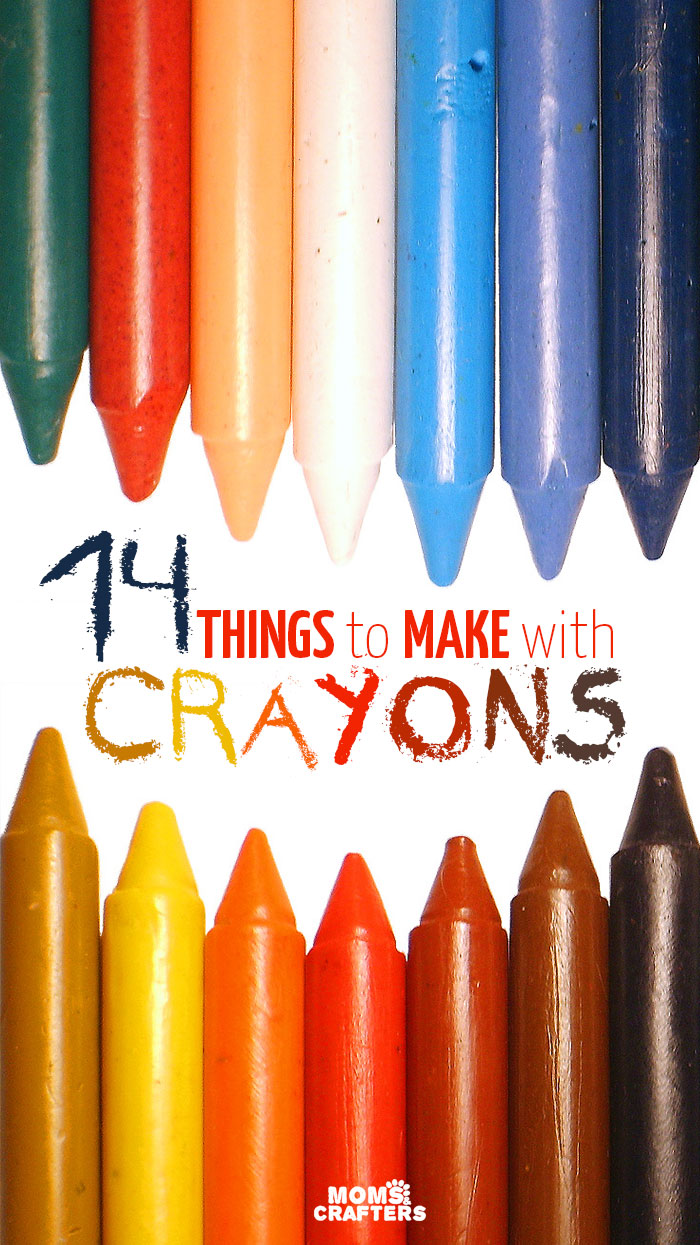 How To Color With Crayons : color, crayons, Things, Crayons, Crafters