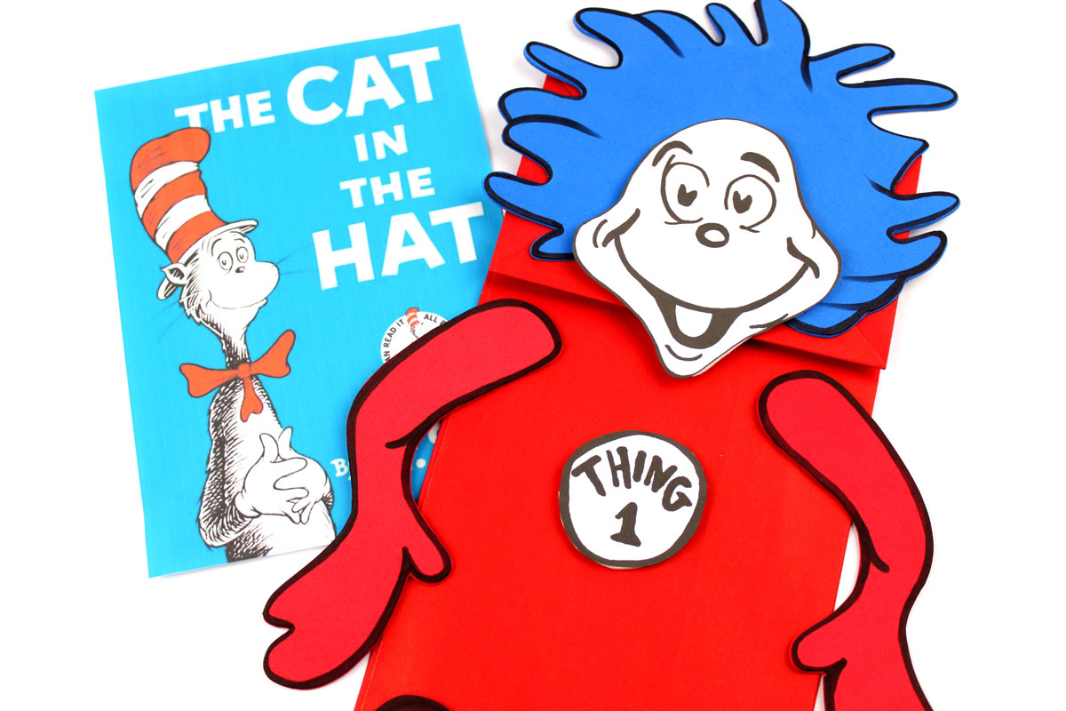 picture relating to Thing 1 and Thing 2 Printable Template named Detail 1 And 2 And Cat Coloring Website page
