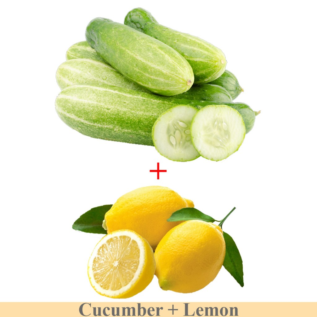 cucumber and lemon paste to remove dark circles