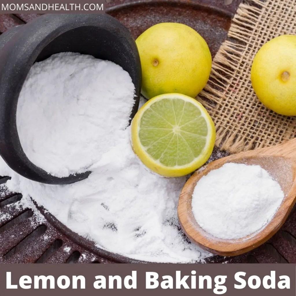 Lemon and Baking Soda to get rid of calluses