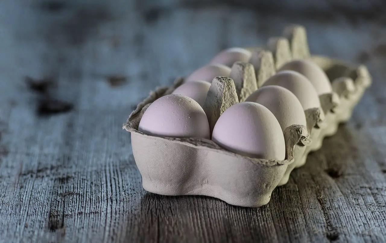 eggs, raw, dairy