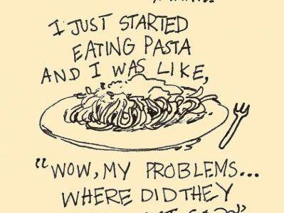 Recept: Spaghetti met romige spek-erwtensaus