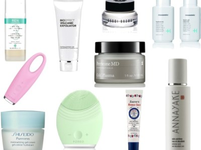 After the party… skincare!