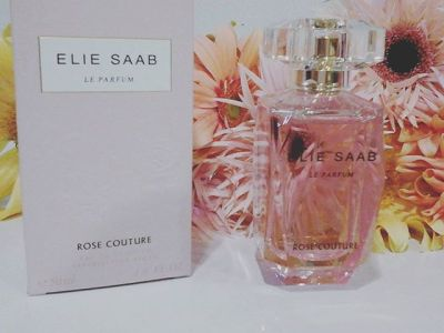 Rose couture by Elie Saab..