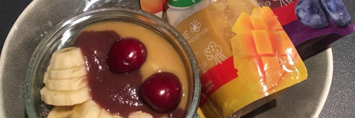 Lekker ontbijten: chiapudding met fruit