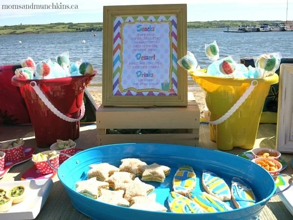 Beach Birthday Party Ideas