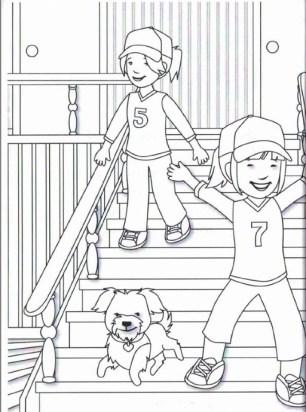 MBC coloring page 1