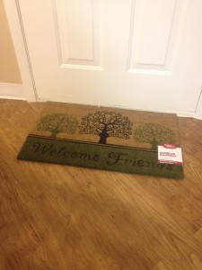 we also ordered this floor mat!