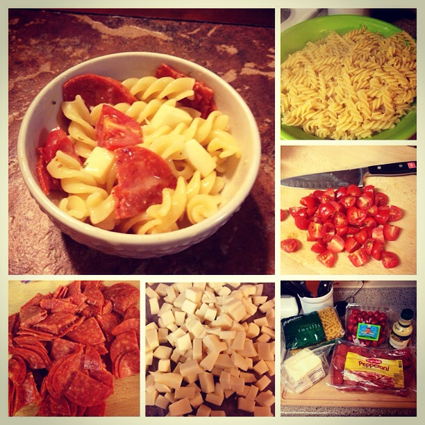 pizza pasta salad recipe moms bistro