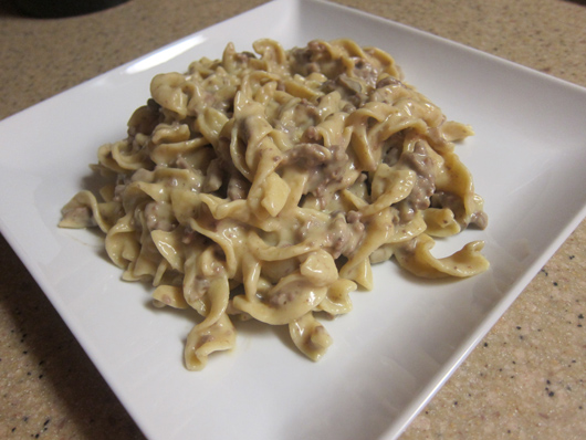 Easy Kid-Friendly Ground Beef Stroganoff