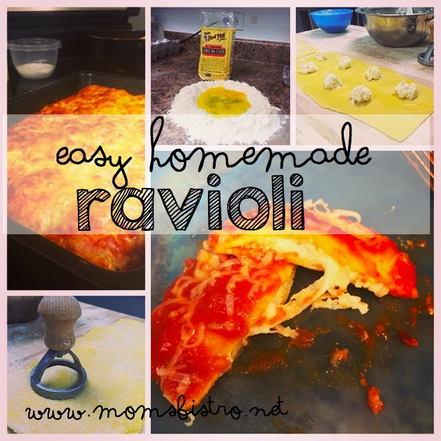 easy homemade ravioli