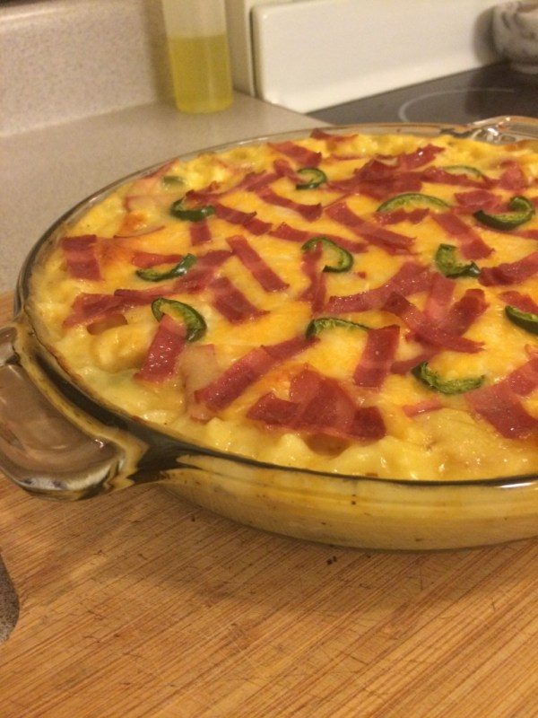 one dish jalapeno popper chicken and rice casserole