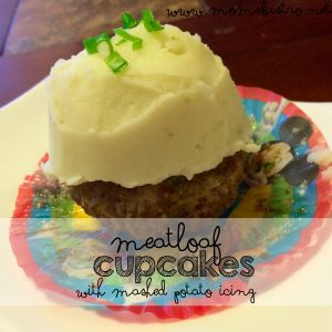 april fools food   meatloaf cupcakes with mashed potatoes icing recipe