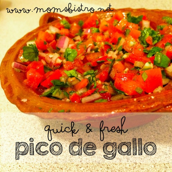 quick and fresh pico de gallo recipe moms bistro cinco de mayo