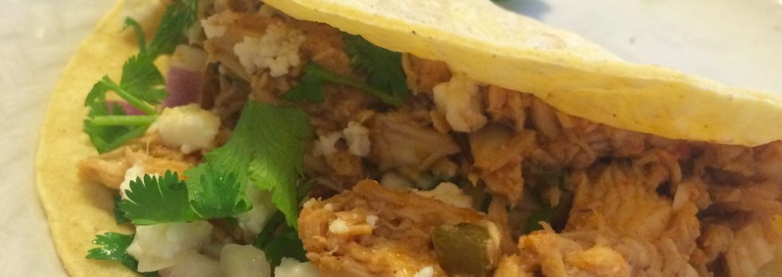 easy crockpot chicken street tacos recipe moms bistro