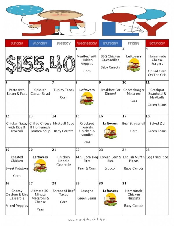 July 2015 Mom s Bistro Month Of Meals-page-001