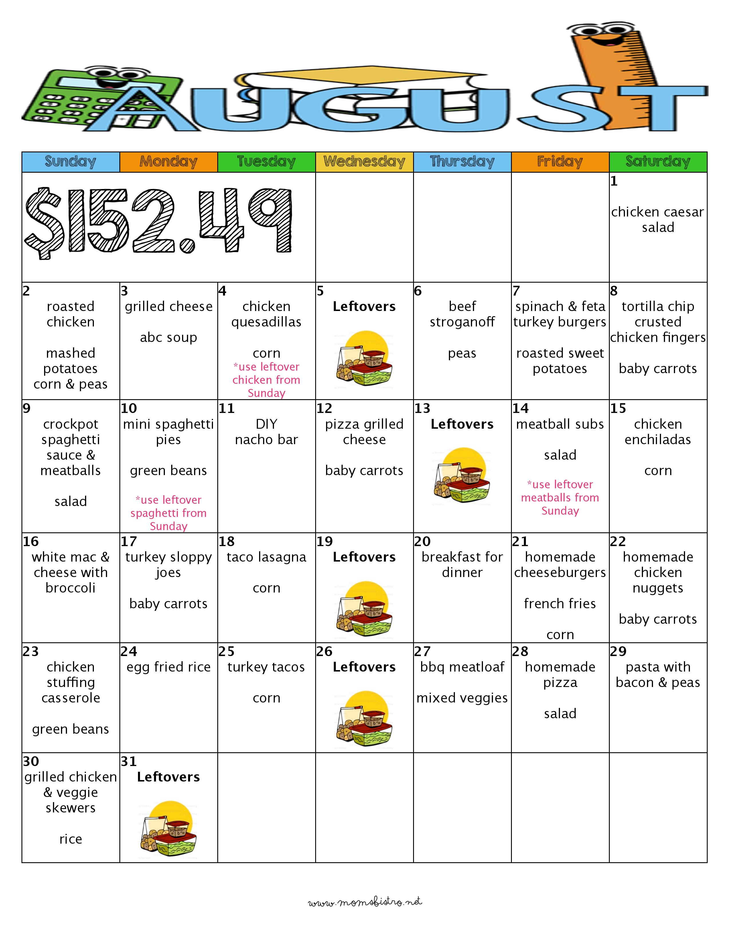 What For Dinner In December 31 Days Of Kid Friendly Dinners Including Free Printable Recipes