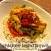 chicken fajitas 30 minute skillet moms bistro recipe